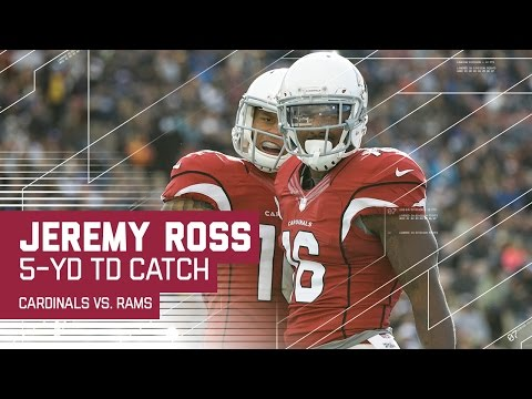 Carson Palmer Tosses a TD Pass to Jeremy Ross! | NFL Week 17 Highlights