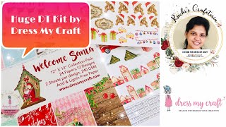 Dress My Craft DT kit reveal | Ruchi's Crafeteria | Crafty Haul