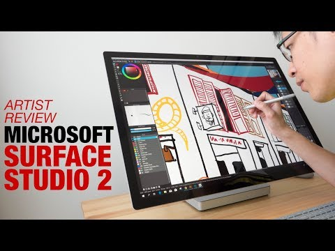 Artist Review: Surface Studio 2