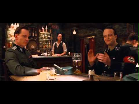 Inglourious Bastards - Intense Bar Scene (HD)