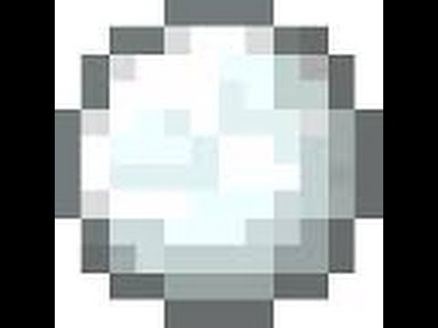 Minecraft - How to make ultimate snowballs - YouTube