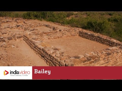 Bailey - The residential complex at Dholavira, Harappan city