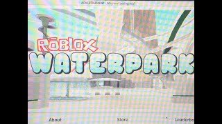 Playing Roblox Water Park / Gali and Mau Toys