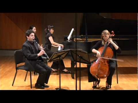 Boetti Trio. Brahms Clarinet Trio. op. 114. 3d movement