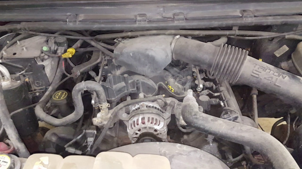 Dc0224 - 2003 Ford F250 Super Duty - 5 4l Engine