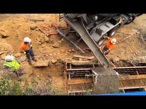 Film suivi du chantier – Octobre 2014
