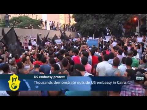 Egypt Protestors Attack US Embassy in Cairo after Film in America Blasphemes Prophet Muhammad