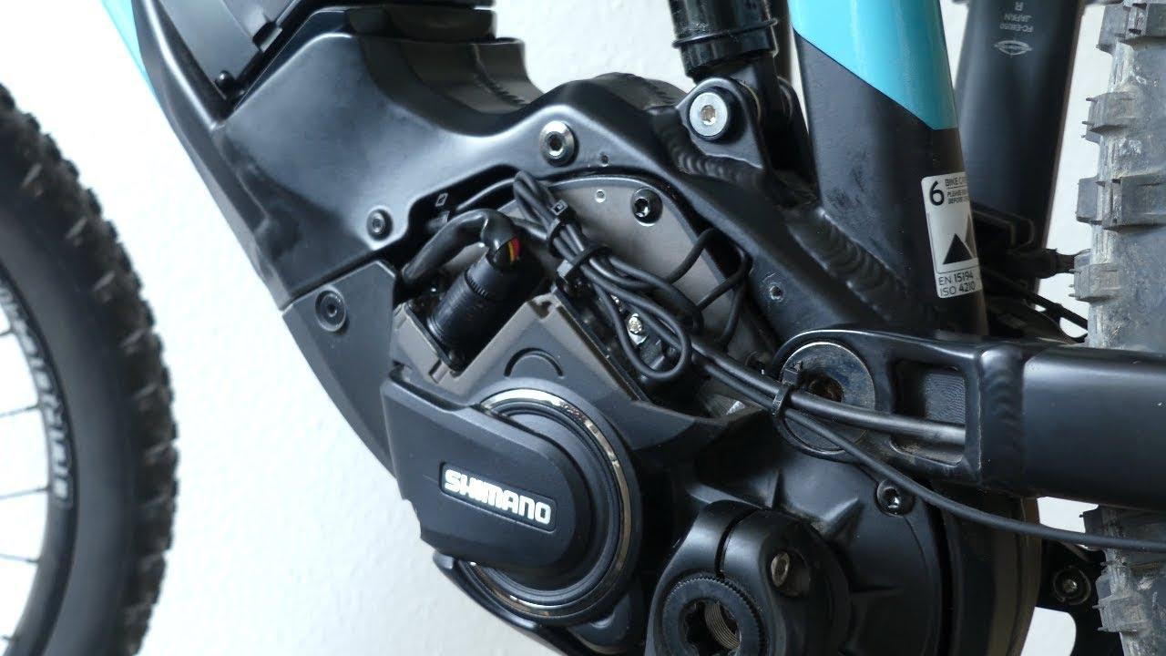 E Bike Tuning: Shimano Steps E8000 Di2 öffnen / Abdeckung entfernen