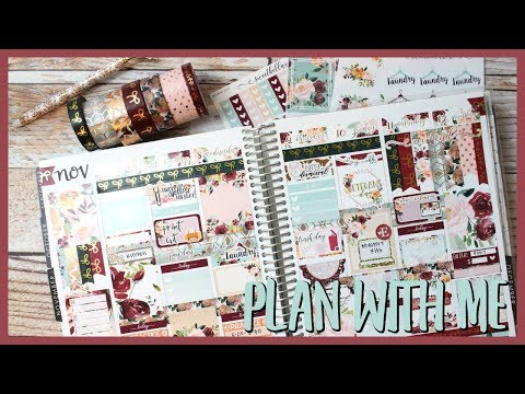PLAN WITH ME ll NOV 6-12 ll COLLAB WITH MRS MOM NEXT DOOR