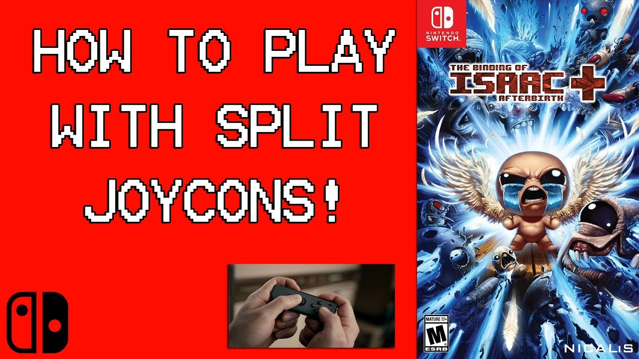 How To Play The Binding Of Isaac Co Op With Split Joycons Nintendo Switch