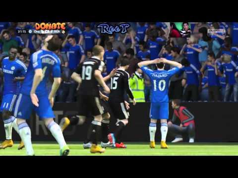 FIFA 2015 - ReeT vs BuQa - Naprosto stresující zápas - Chelsea vs Real Madrid