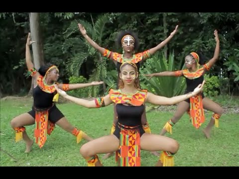 Afro House & African Caribbean Folk Dance Choreography by Pr
