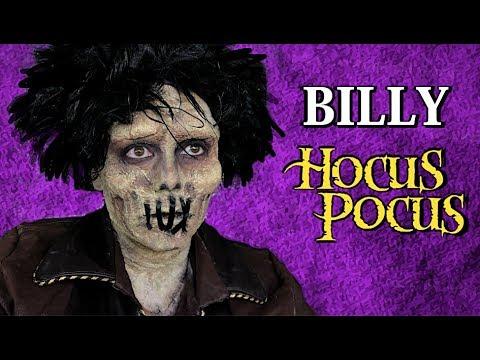 BILLY HOCUS POCUS MAKEUP TUTORIAL! thumbnail