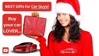 NEW Best Gift Ideas for Car Enthusiasts - (plus BONUS idea!)