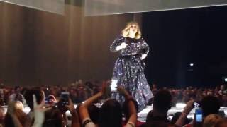 Adele live - introducing Someone Like You - Big laughs, big heart... and big ass! ;)
