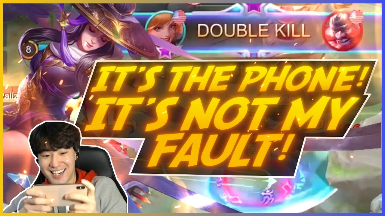 If you can't Fanny, blame your phone! | MLBB