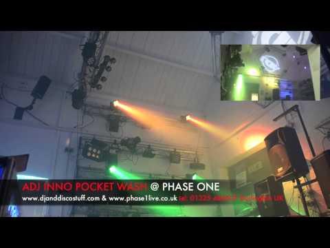 American DJ Inno Pocket Wash @ Phase One DJ Store