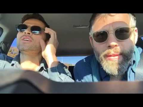 Misha Collins fb livestream -- travelling through Ohio with Darius for Hillary Campaign (pt 2)