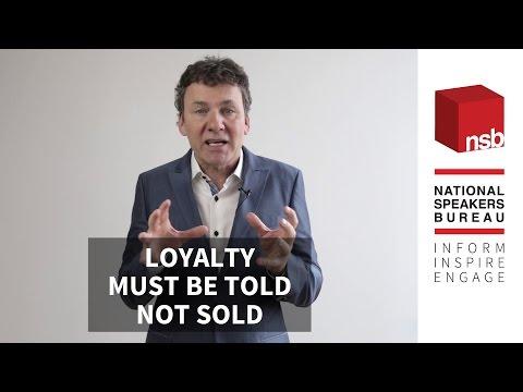 Tony Chapman on Loyalty | National Speakers Bureau
