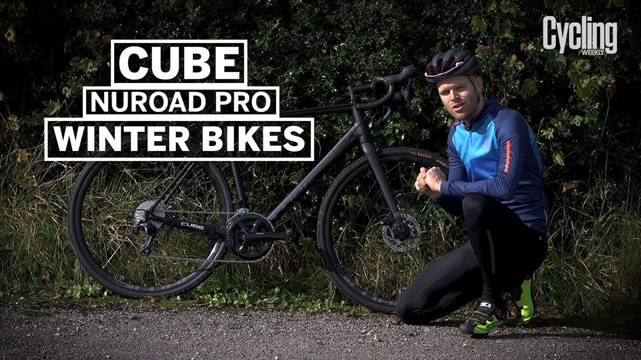9d50bf15954 Cube Nuroad Pro | Winter Bikes Special | Cycling Weekly - YouTube