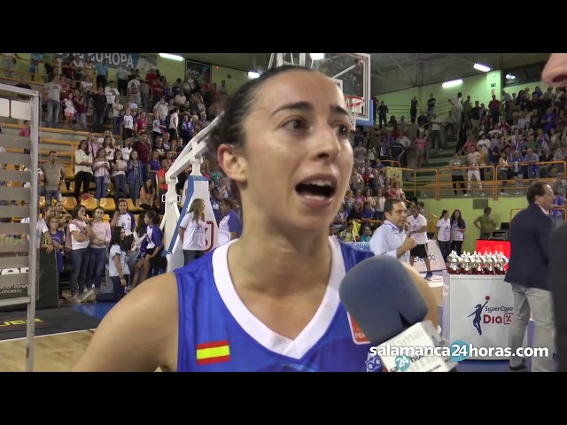 Declaraciones de Silvia Domínguez tras conseguir la Supercopa 2017