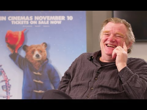 PADDINGTON 2 - Brendan Gleeson (Knuckles McGinty) talks about the sequel & his short PSYCHIC