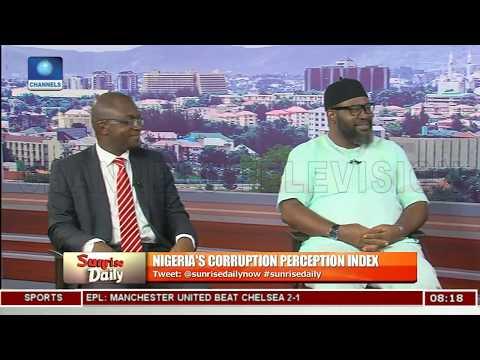 Analising Nigeria's Corruption Perception Index Pt.1 |Sunrise Daily|