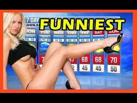 Funniest Sexy Laughing News Bloopers   Hilarious News Anchors Can't Stop Laughing !