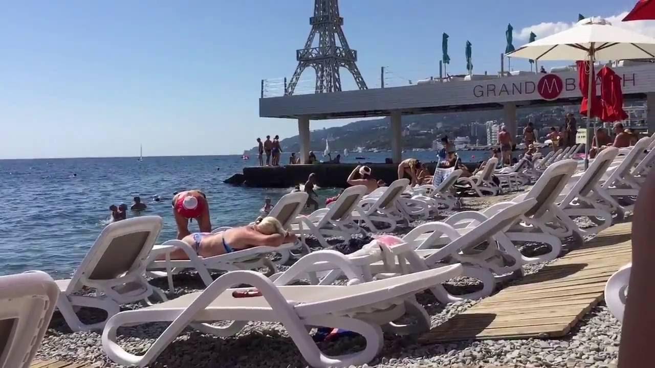 массандра фото пляжей и набережной