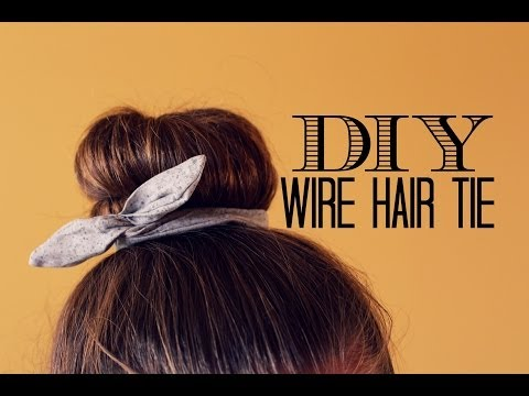 DIY Wire Hair Tie