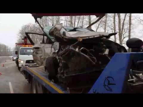 ДТП в Новомосковском районе. Пятеро погибших.