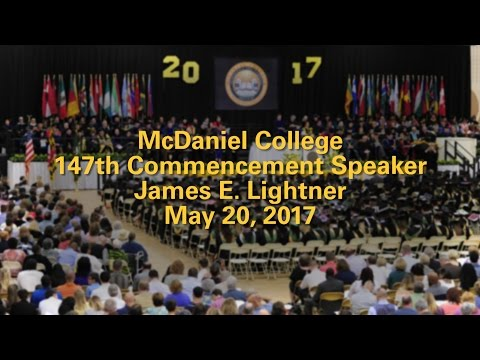 McDaniel College's 147th Commencement Speaker | McDaniel College