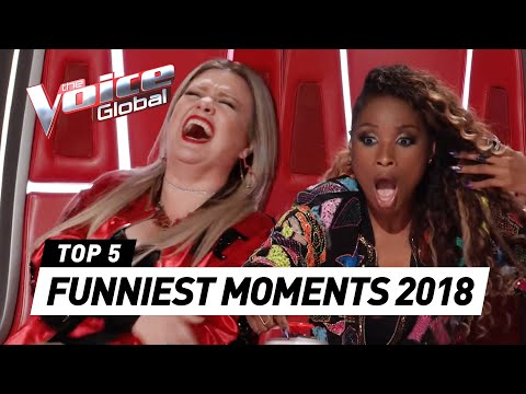 FUNNIEST MOMENTS in The Voice 2018