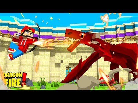 TRIAL BY DRAGONFIRE! Ropo's Roast - Minecraft Dragonfire