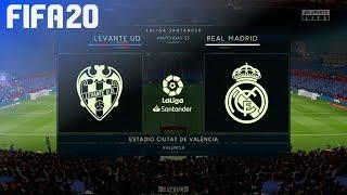 Gambar cover FIFA 20 - Levante UD vs. Real Madrid @ Estadio Ciutat de València