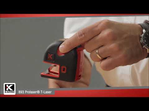 Kapro 893 T-Laser Presented by Woodcraft