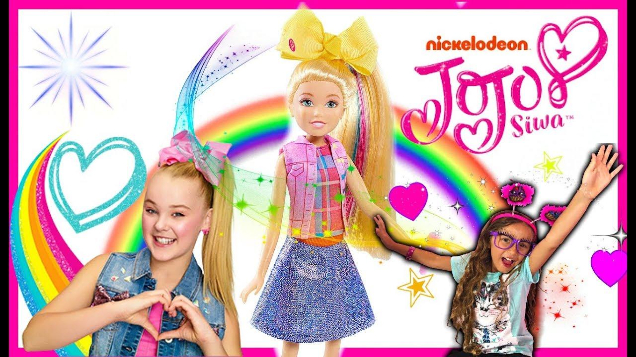 JoJo Siwa Boomerang Singing Doll! Singing Jojo Siwa Doll Review ... 24cb12eea