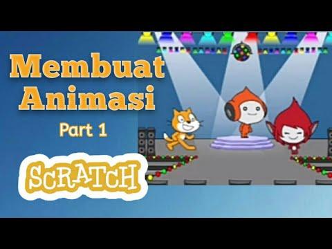 Tutorial Programming Scratch : Membuat Animasi Cerita Pendek Bagian 1