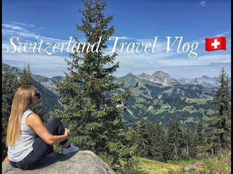 Switzerland Travel Vlog 2017: Saanen/Gstaad