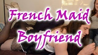 Repeat youtube video How to Force Your Boyfriend to Crossdress Step 12 : French Maid Punishment