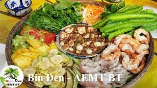 Chợ Thành Phố Bến Tre. Mắm chua thịt luộc | Bin Đen AEMT BT - Tập 119