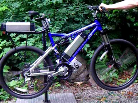 Elation E Bike Two Wheel Drive Electric Bicycle Youtube