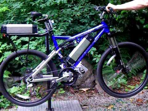 Elation E Bike Two Wheel Drive Electric Bicycle - YouTube