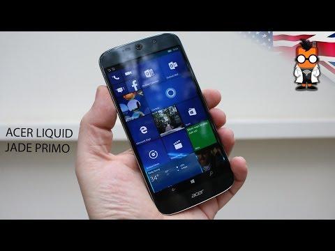 Acer Liquid Jade Primo Windows Phone Hands On - CES 2016