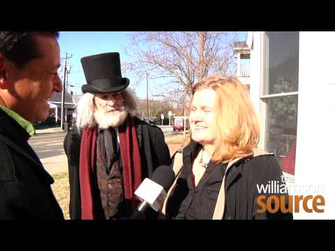 Dickens Scrooge Interview