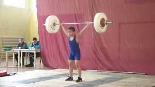 Турнир памяти А.И. Василенко Рывок в/к 34, 38, 42 кг