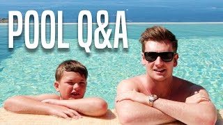 BROTHERS DO A POOL Q&A