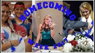 I WON HOMECOMING QUEEN? // HOMECOMING WEEK