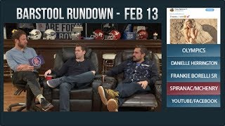 Barstool Rundown - February 13, 2018