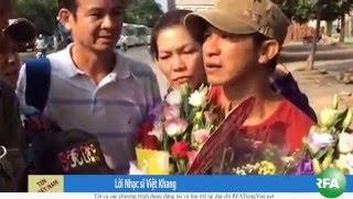 Nhạc sĩ Việt Khang được trả tự do